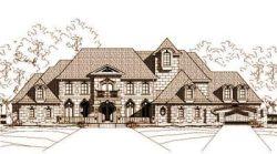 European Style Home Design Plan: 19-218