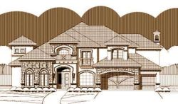 Tuscan Style Floor Plans Plan: 19-219