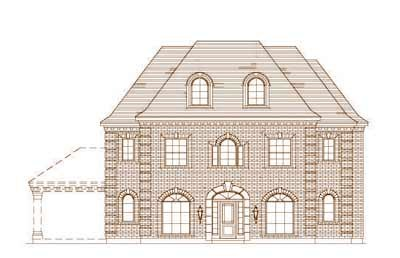 Traditional Style House Plans Plan: 19-230