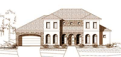 Traditional Style Floor Plans Plan: 19-231
