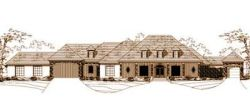 Mediterranean Style Floor Plans Plan: 19-254
