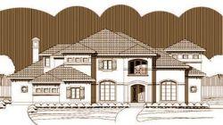 Mediterranean Style House Plans Plan: 19-258