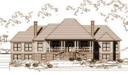 Country Style Home Design Plan: 19-267
