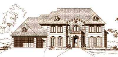 Traditional Style Floor Plans Plan: 19-272