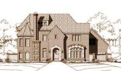 European Style House Plans Plan: 19-279