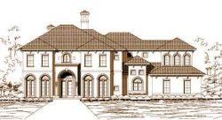 Mediterranean Style House Plans Plan: 19-283