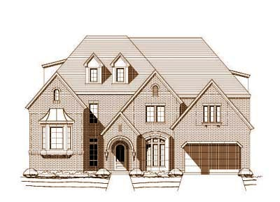 Traditional Style House Plans Plan: 19-288