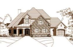 French-Country Style Floor Plans Plan: 19-315