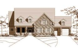 Traditional Style Home Design Plan: 19-316