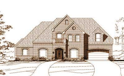 Traditional Style House Plans Plan: 19-318