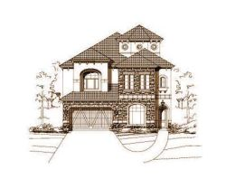 Tuscan Style House Plans Plan: 19-329