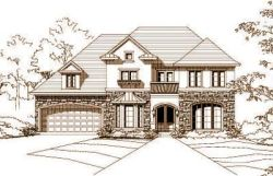 French-Country Style House Plans Plan: 19-334