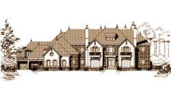 European Style Home Design Plan: 19-346