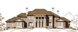 Colonial Style Floor Plans Plan: 19-380