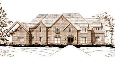 Traditional Style House Plans Plan: 19-392
