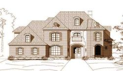 French-Country Style House Plans Plan: 19-394