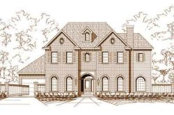 Traditional Style Home Design Plan: 19-404