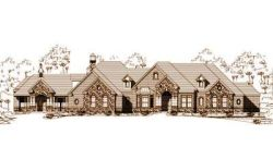 French-Country Style House Plans Plan: 19-408