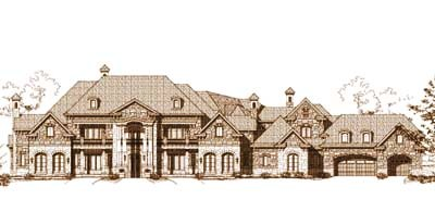 Traditional Style Floor Plans Plan: 19-413