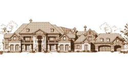 Traditional Style Home Design Plan: 19-413