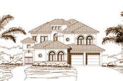 Mediterranean Style Home Design Plan: 19-419