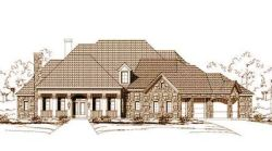 Country Style Home Design Plan: 19-426