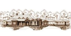 Traditional Style House Plans Plan: 19-432