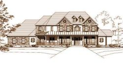 Country Style Floor Plans Plan: 19-438