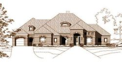 Traditional Style Floor Plans Plan: 19-451