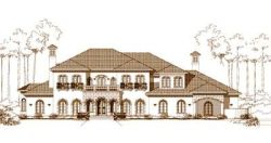 Mediterranean Style Floor Plans Plan: 19-472