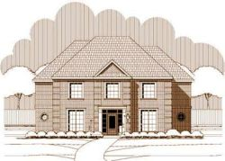 European Style House Plans Plan: 19-476