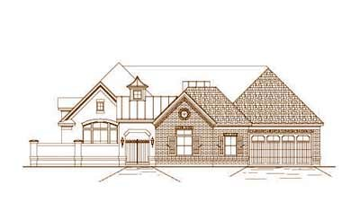 Traditional Style Floor Plans Plan: 19-486