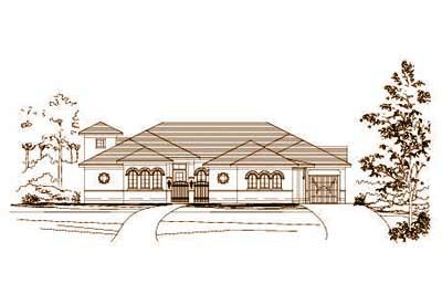 Traditional Style House Plans Plan: 19-493