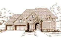 Traditional Style Home Design Plan: 19-495