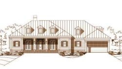 Country Style Floor Plans Plan: 19-497