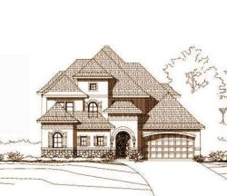 Tuscan Style House Plans Plan: 19-499
