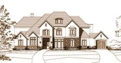 French-Country Style House Plans Plan: 19-513