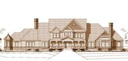 Country Style Home Design Plan: 19-517