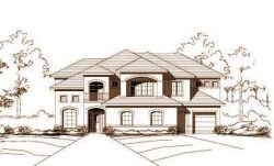 Traditional Style Home Design Plan: 19-524