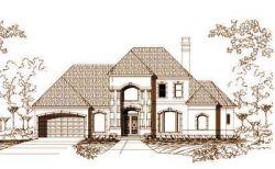 Mediterranean Style Home Design Plan: 19-530