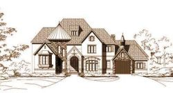 Tuscan Style Home Design Plan: 19-537