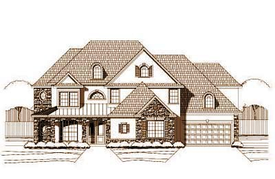 Traditional Style House Plans Plan: 19-539