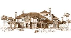 Tuscan Style House Plans Plan: 19-544