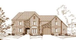 French-Country Style Home Design Plan: 19-563