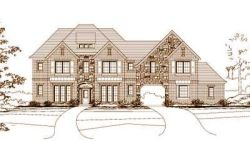 French-Country Style House Plans Plan: 19-568