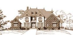 European Style House Plans Plan: 19-573
