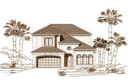 Mediterranean Style Floor Plans Plan: 19-575