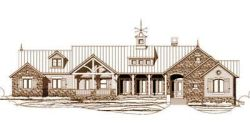 Country Style Floor Plans Plan: 19-584