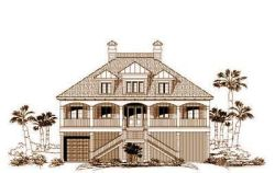 Beach Style House Plans Plan: 19-593