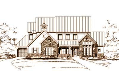 Traditional Style House Plans Plan: 19-608